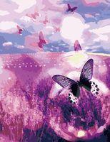 """Картина по номерам """"Бабочки"""" (500x650 мм; арт. MMC011)"""