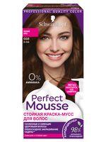 """Краска-мусс для волос """"Perfect Mousse"""" тон: 668, лесной орех"""