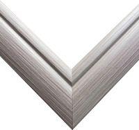 Рамка деревянная для картины по номерам (40х50 см; серая)