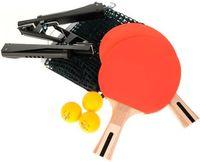 Набор для настольного тенниса (2 ракетки+3 мяча+сетка с креплением; арт. 798NSN3)