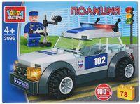 """Конструктор """"Полиция. Машина ДПС"""" (78 деталей)"""