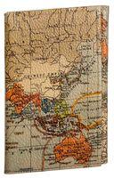 "Обложка на паспорт и автодокументы ""Карта мира"""