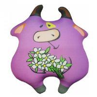 """Игрушка-антистресс """"Корова-милашка"""" (31 см; фиолетовый)"""