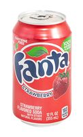 """Напиток газированный """"Fanta. Клубника"""" (335 мл)"""