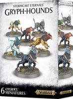 Warhammer Age of Sigmar. Stormcast Eternals. Gryph-hounds (96-31)