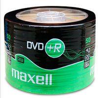 Диск DVD+R 4.7Gb 16x MAXELL bulk 50