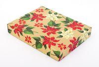 """Подарочная коробка """"Poinsettia"""" (18х23,5х3,5 см)"""