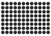 Набор наклеек (96 шт.; круглые)