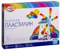 """Пластилин со стеком """"Классический"""" (16 цветов)"""