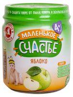 """Детское пюре Маленькое счастье """"Яблоко"""" (90 г)"""