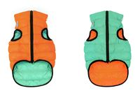 "Куртка ""Lumi"" (50 см; оранжево-салатовая)"