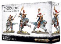Warhammer Age of Sigmar. Stormcast Eternals. Evocators on Celestial Dracolines (96-41)
