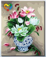"Картина по номерам ""Букет лотосов"" (400x500 мм; арт. HB4050267)"