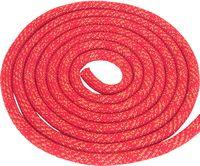 Скакалка для художественной гимнастики Pro (3 м; красная с люрексом)