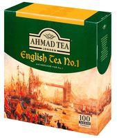 """Чай черный """"Ahmad Tea. Английский чай №1"""" (100 пакетиков)"""