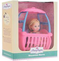 """Игровой набор """"Кукла Мегги с кроваткой"""""""