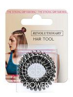 """Набор резинок-браслетов для волос """"Power True Black. С подвесом"""" (3 шт.; арт. 3117)"""