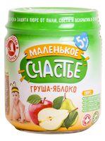 """Детское пюре Маленькое счастье """"Яблоко, груша"""" (90 г)"""