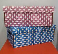 Набор коробок больших 2 шт. (фиолетовая и синяя)