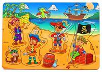 """Рамка-вкладыш """"Дети-пираты"""""""