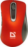 Мышь беспроводная Defender Datum MM-075 (красная)