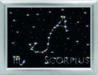 """Аппликация из страз """"Скорпион"""""""