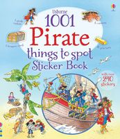 1001 Pirate Things to Spot. Sticker Book