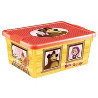 """Ящик для хранения с крышкой """"Маша и Медведь"""""""